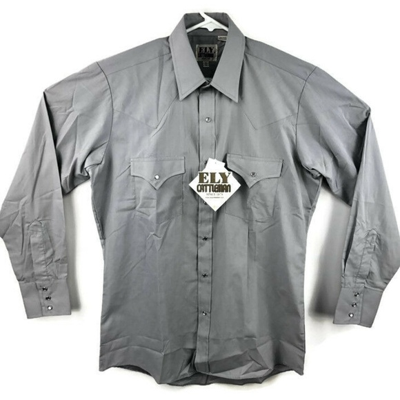 ely cattleman Other - Ely Cattleman Western Pearl Snap Shirt NEW